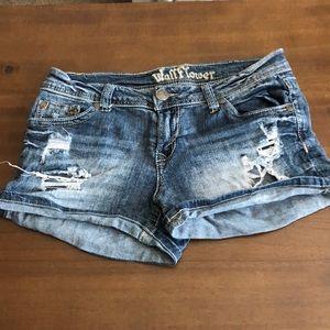 Wallflower Jean Shorts Size 9